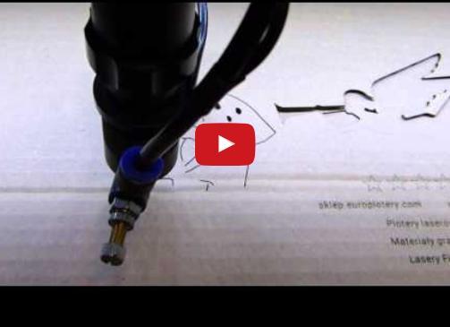 Ciecie i grawerowanie tektury laserem